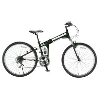 OTOMO26インチ折りたたみ自転車マットブラックHUMMERFDB268WSUSマツトブラツク