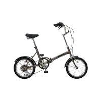 【送料無料】OTOMO 16インチ折りたたみ自転車 Raychell シルバー MF-166Rシルバ- [MF166Rシルバ-] Raychellからカラフルなコンパクトバイクが新登場!