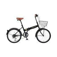 OTOMO20インチ折りたたみ自転車ブラックFB-206Rブラツク