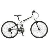 【送料無料】OTOMO 26インチ折りたたみ自転車 HUMMER ホワイト HUMMERFDB268WSUSホワイト [HUMMERFDB268WSUSホワイト]