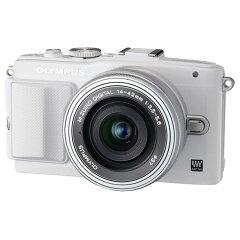 【送料無料】オリンパス デジタル一眼カメラ・14-42mm EZレンズキット PEN Lite…