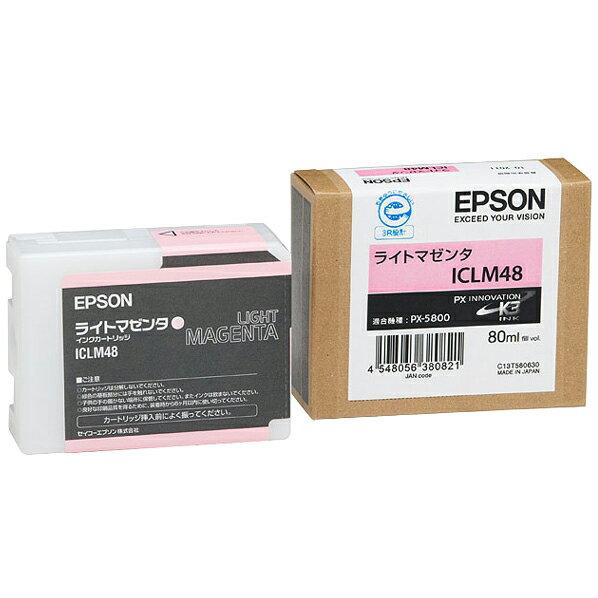 エプソン インクカートリッジ ライトマゼンタ ICLM48 [ICLM48]