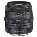 PENTAX ズームレンズ HD PENTAX-DA 20-40mmF2.8-4ED Limited DC WR ブラック HD DA20-40MM リミテツド WR BK [HDDA2040MMリミテツドWRBK]