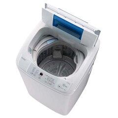 すすぎ1回設定でスピーディーに洗濯。【送料無料】ハイアール 5.0kg全自動洗濯機 ホワイト JW-...