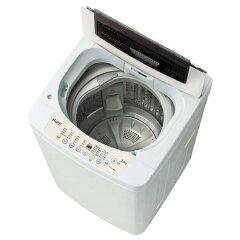 「高濃度洗浄機能」で汚れを芯から引き剥がす。【送料無料】ハイアール 7.0kg全自動洗濯機 ホ...