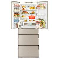 日立517L6ドアノンフロン冷蔵庫RX5200EXN真空チルド