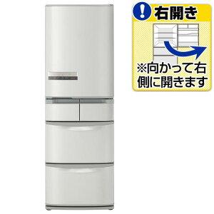 【右開き】フロストリサイクル冷却。【送料無料】日立 【右開き】415L 5ドアノンフロン冷蔵庫 ...