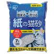アイリスオーヤマ 紙の猫砂(7L) KMN-70L [KMN70L]