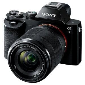 【送料無料】SONY デジタル一眼カメラ・標準ズームレンズキット α7 ILCE-7K B […