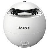 【送料無料】SONY ワイヤレスポータブルスピーカー ホワイト SRS-X1 W [SRSX1W]【KK9N0D18P】