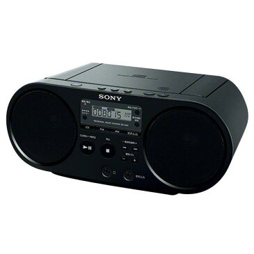 SONY CDラジオ ブラック ZS-S40 B [ZSS40B]【RNH】
