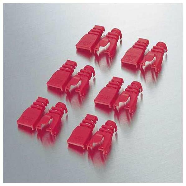 エレコム ブーツパック 赤 LD-ABRD6 1パック 6個 ELECOM
