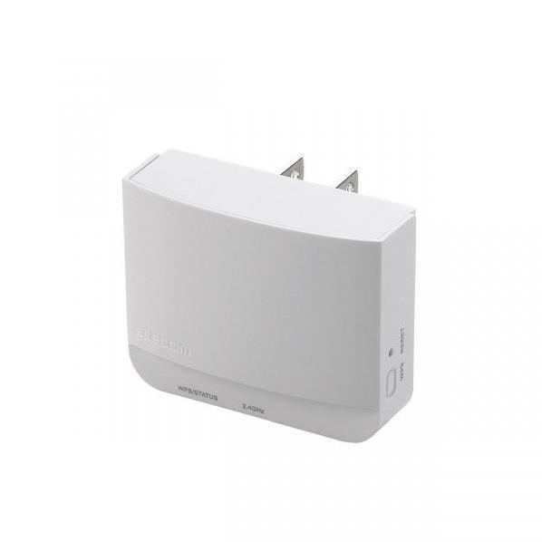 エレコム 無線LAN中継器 ホワイト WTC-300HWH