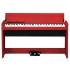 【送料無料】【標準設置が今なら1円!】コルグ 電子ピアノ レッド LP-380-RD [LP380RD]【KK9N0D18P】