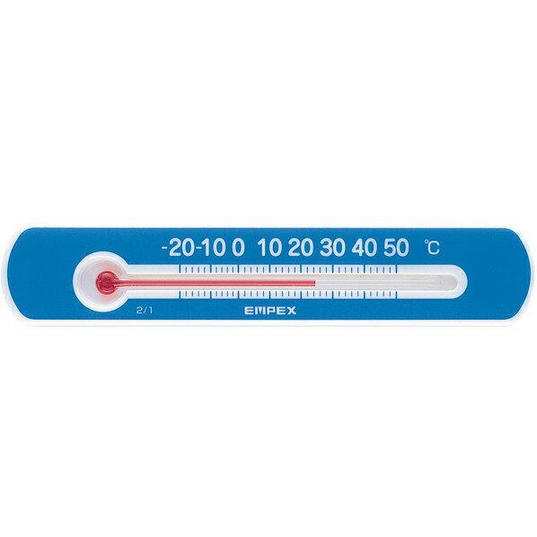 エンペックス気象計 エンペックス マグネットサーモ ミニ ヨコ ブルー TG-2526