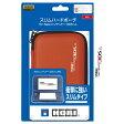 HORI スリムハードポーチ for Newニンテンドー3DS LL レッド 3DS424 [3DS424]