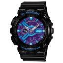 【送料無料】カシオ 腕時計 G-SHOCK ブラック/ブルー液晶 GA-110HC-1AJF [GA...