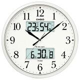 カシオ 電波掛時計 パールシルバー ITM-660NJ-8JF [ITM660NJ8JF]