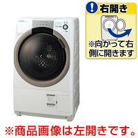 シャープ【右開き】7.0kgドラム式洗濯乾燥機ホワイト系ESS70WR