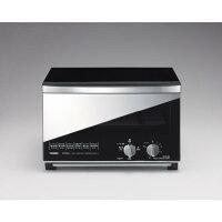 ツインバードミラーガラスオーブントースター(B)ブラックTS-D047B