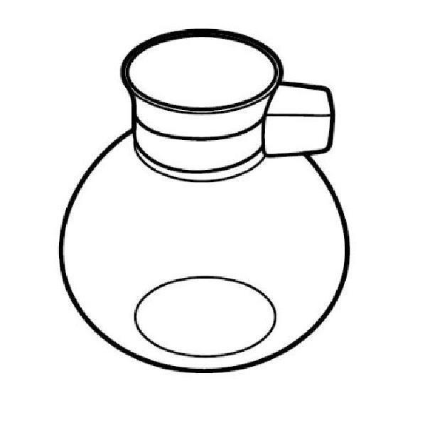 ツインバード工業 サイフォン式コーヒーメーカー用 ガラスサーバー M-AF67 MAF67