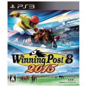 【送料無料】コーエーテクモゲームス Winning Post 8 2015【PS3】 BLJM…