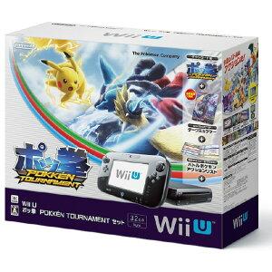 【送料無料】任天堂 Wii U ポッ拳 POKKEN TOURNAMENT セット【Wii U…