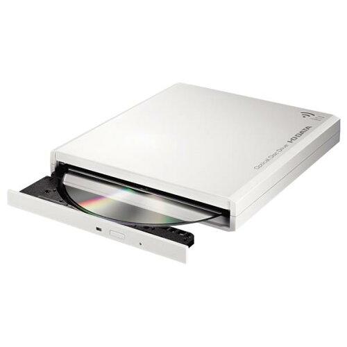 I・Oデータ スマホ・タブレット用 DVD視聴+音楽CD取り込みドライブ DVDミレル ホワイ...