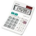 シャープ 電卓(ミニナイスサイズタイプ) EL772JX [EL772...