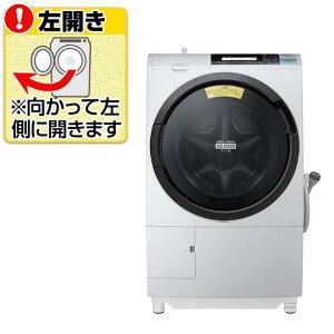 【送料無料】日立 【左開き】11.0kgドラム式洗濯乾燥機 ビッグドラム スリム ライトグレー…