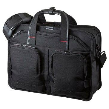 サンワサプライ エグゼクティブビジネスバッグPRO(15.6インチワイド・ダブル) ブラック BAG-EXE8 [BAGEXE8]