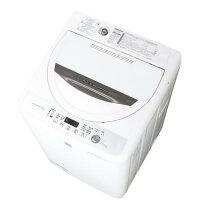 【送料無料】シャープ 4.5kg全自動洗濯機 keyword キーワードホワイト ESG4E3KW [ESG4E3KW]【RNH】