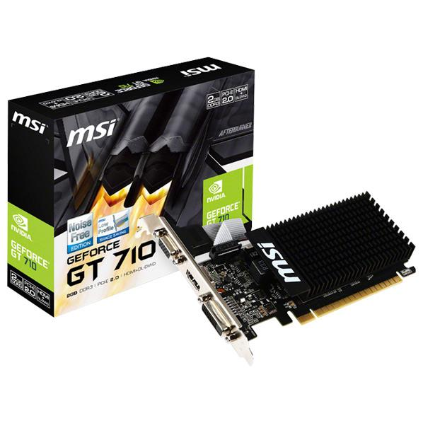 PCパーツ, グラフィックボード MSI GeForce GT 710 GT710 2GD3H LP GT7102GD3HLPSEPP
