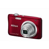【送料無料】ニコン デジタルカメラ COOLPIX A100 レッド COOLPIXA100RD [COOLPIXA100RD]