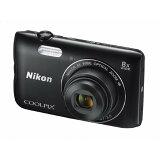 【送料無料】ニコン デジタルカメラ COOLPIX A300 ブラック COOLPIXA300BK [COOLPIXA300BK]【RNH】