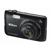 【送料無料】ニコン デジタルカメラ COOLPIX A300 ブラック COOLPIXA300BK [COOLPIXA300BK]