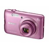 【送料無料】ニコン デジタルカメラ COOLPIX A300 ピンク COOLPIXA300PK [COOLPIXA300PK]