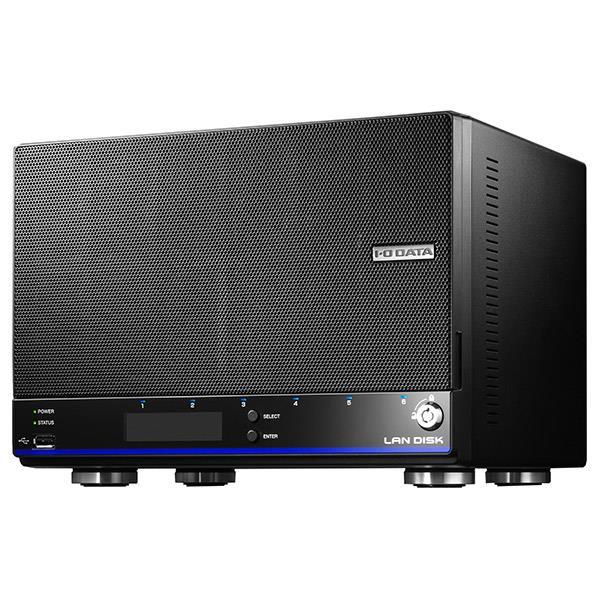 アイ オー データ機器 拡張ボリューム 採用 増設用スロット搭載 4ドライブビジネスNAS 8TB HDL4-H8EX 1台