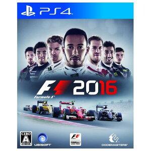【送料無料】ユービーアイソフト F1 2016【PS4】 PLJM84064 [PLJM840…