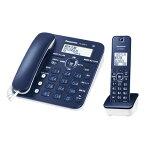 【送料無料】パナソニック デジタルコードレス電話機(子機1台タイプ) ネイビーブルー VE-GZ30DL-A [VEGZ30DLA]【KK9N0D18P】【RNH】