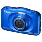【送料無料】ニコン デジタルカメラ COOLPIX W100 ブルー COOLPIXW100BL [COOLPIXW100BL]