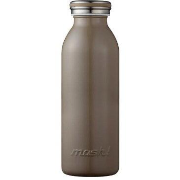 ドウシシャ ステンレスボトル(450ml) mosh! ブラウン DMMB450BR [DMMB450BR]