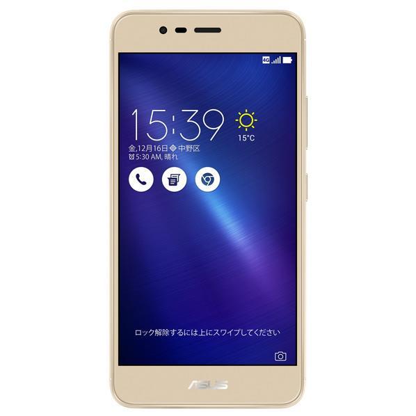 【送料無料】ASUS SIMフリースマートフォン ZenFone 3 Max ゴールド ZC520TL-GD16 [ZC520TLGD16]