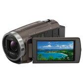 【送料無料】SONY 64GB内蔵メモリー デジタルHDビデオカメラレコーダー ハンディカム ブラウン HDR-CX680 TI [HDRCX680TI]