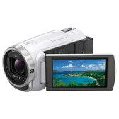 【送料無料】SONY 64GB内蔵メモリー デジタルHDビデオカメラレコーダー ハンディカム ホワイト HDR-CX680 W [HDRCX680W]