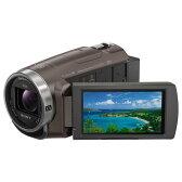 【送料無料】SONY 64GB内蔵メモリー デジタルHDビデオカメラレコーダー ハンディカム ブラウン HDR-PJ680 TI [HDRPJ680TI]