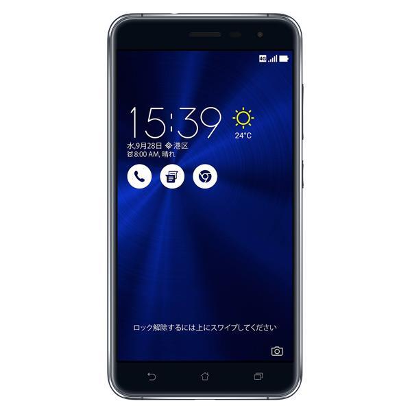 すべてはその一瞬をとらえるために。【送料無料】ASUS SIMフリースマートフォン ZenFone 3 サフ...
