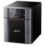 【送料無料】BUFFALO 10GbE標準搭載 法人様向け4ドライブNAS(8TB) テラステーション TS5410DN0804 [TS5410DN0804]【KK9N0D18P】