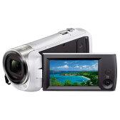 【送料無料】SONY 32GB内蔵メモリー デジタルHDビデオカメラレコーダー ハンディカム ホワイト HDR-CX470 W [HDRCX470W]