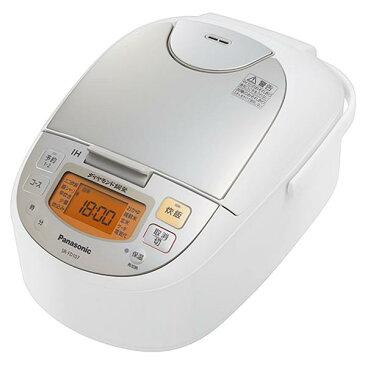 パナソニック IHジャー炊飯器(5.5合炊き) シャンパンホワイト SR-FD107-W [SRFD107W]【RNH】